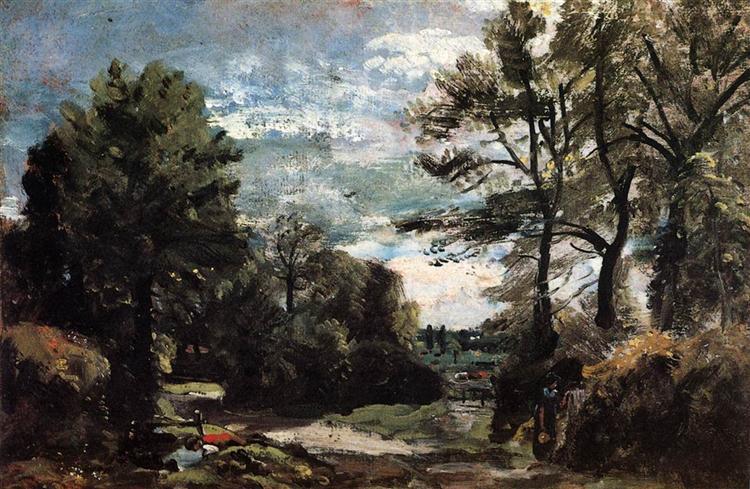 A Lane near Flatford, 1810 - 1811 - John Constable
