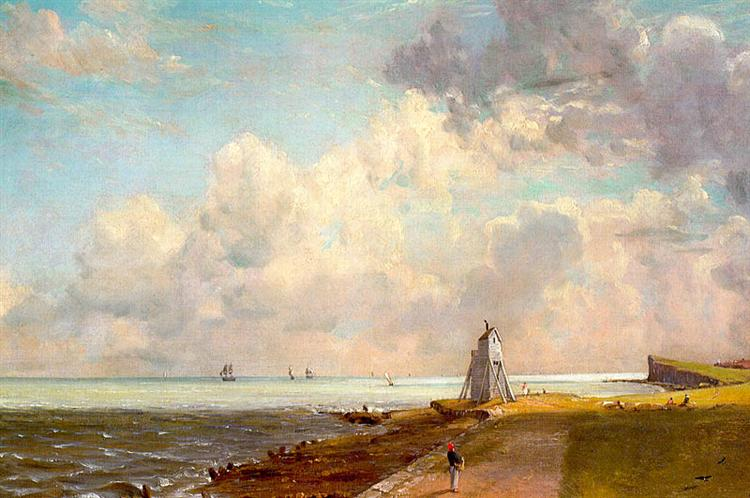 The Low Lighthouse and Beacon Hill, c.1820 - John Constable