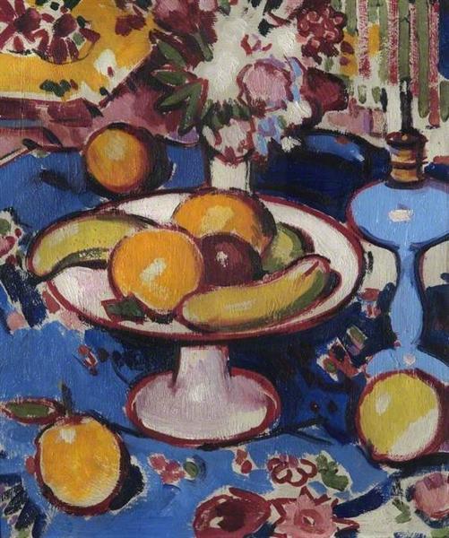 The Blue Lamp, 1920 - John Duncan Fergusson