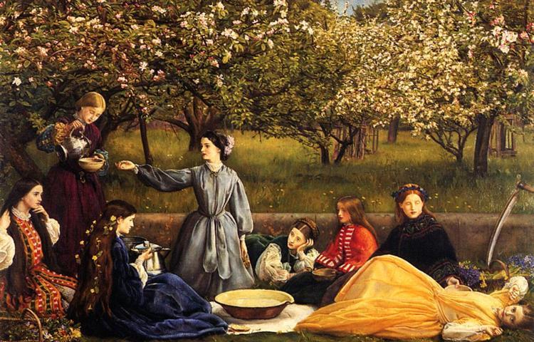 Apple Blossoms, 1856 - 1859 - John Everett Millais