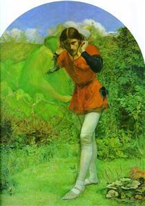 Ferdinand Lured by Ariel - John Everett Millais