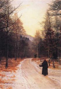 Glen Birnam - John Everett Millais