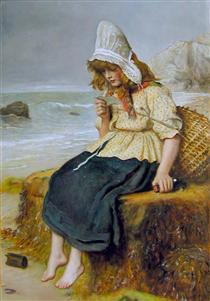 Message From the Sea - John Everett Millais
