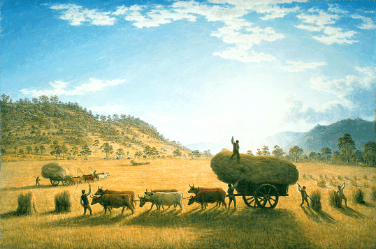 My Harvest Home, 1835 - John Glover