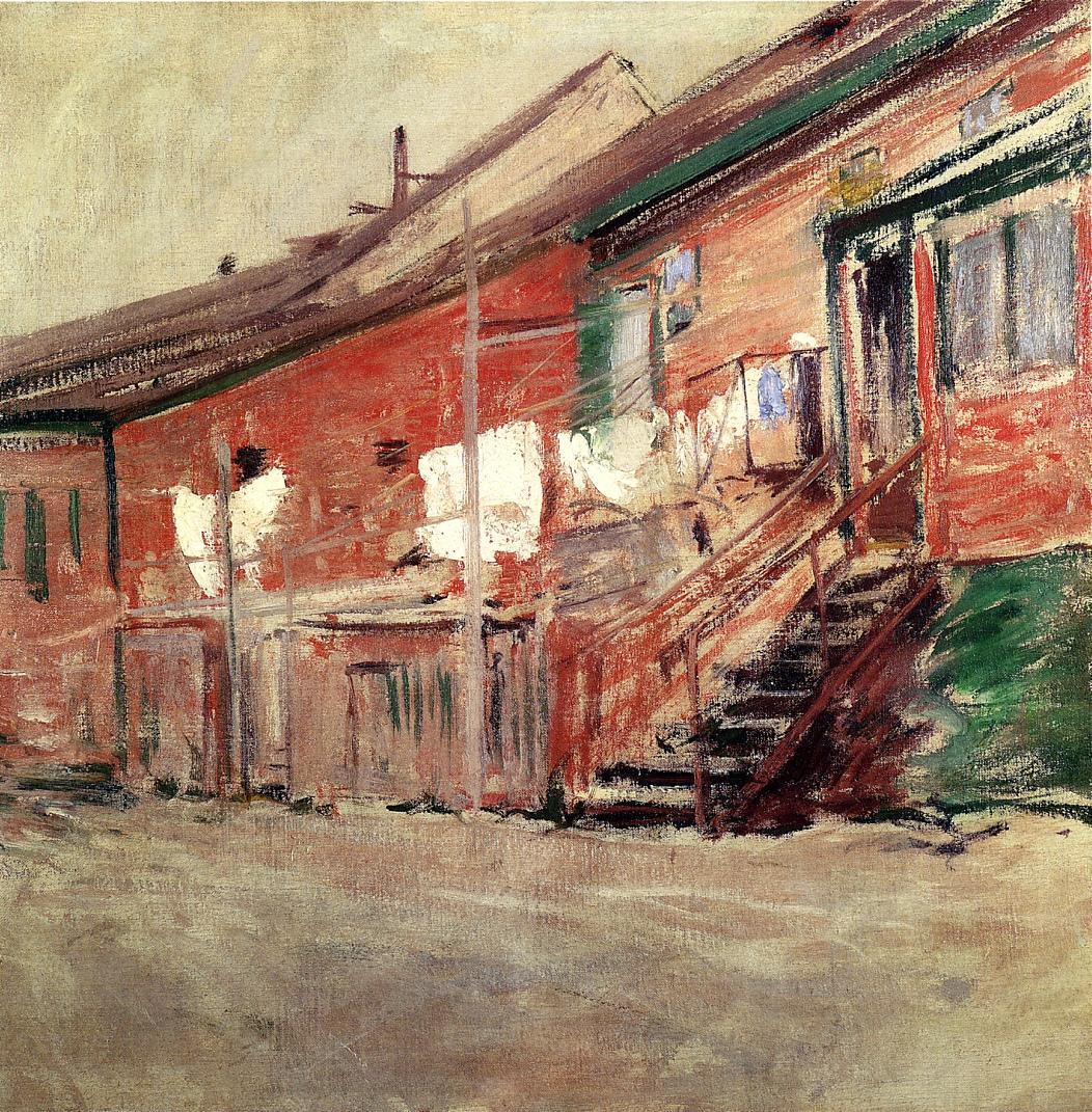Gloucester, Fishermen's Houses, 1901