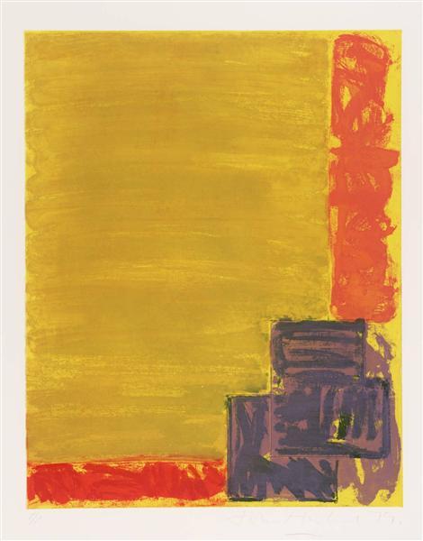 View, 1979 - John Hoyland