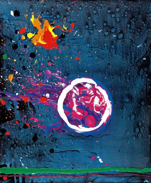 Vincent's Moon - 11.7.07 - John Hoyland