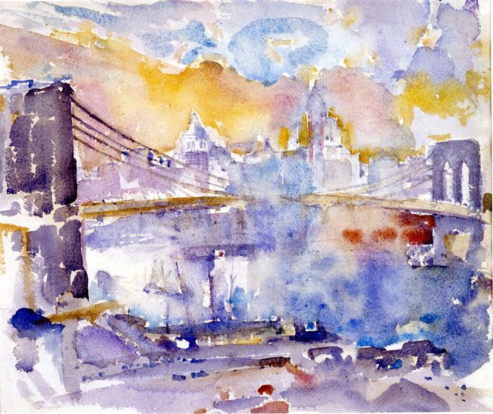 Brooklyn Bridge - John Marin
