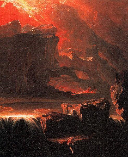 Sadak in Search of the Waters of Oblivion, 1812 - John Martin