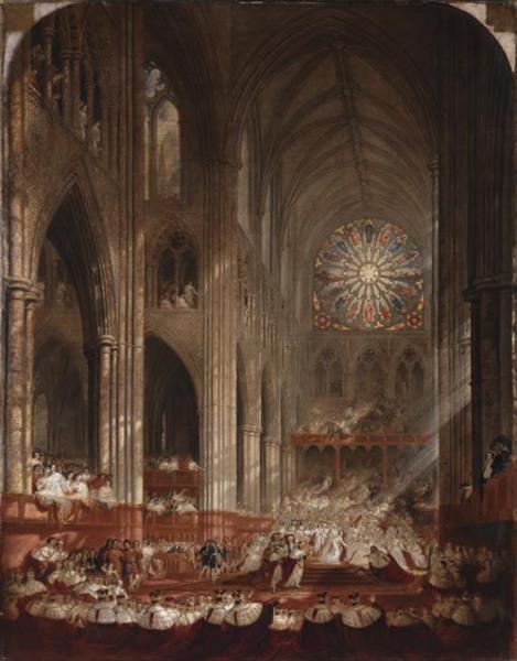 The Coronation of Queen Victoria, 1839 - John Martin
