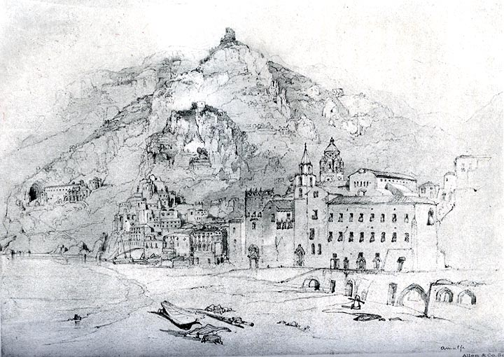 Amalfi, 1841 - John Ruskin