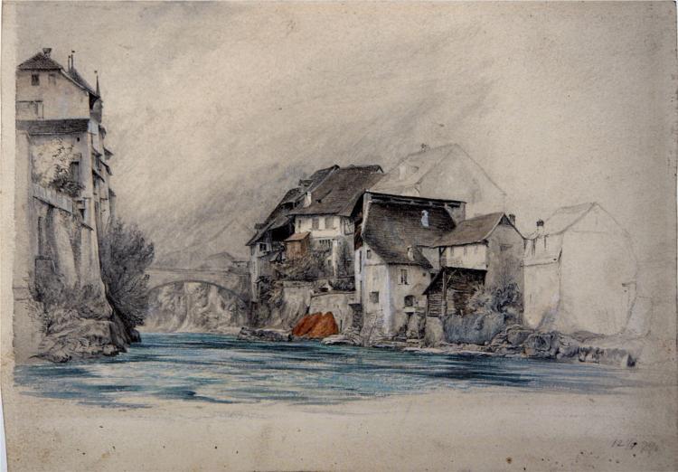 Brugg, 1863 - John Ruskin