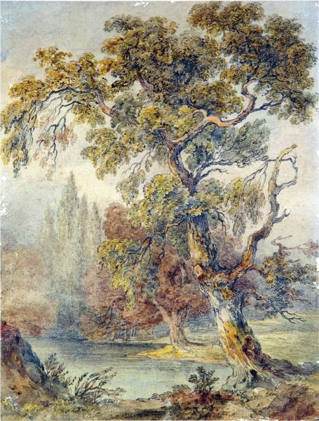 Trees and Pond, 1832 - John Ruskin