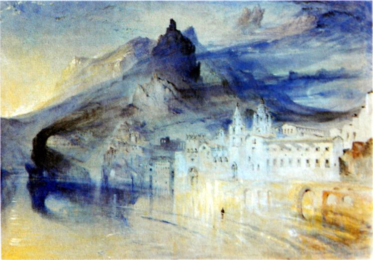 View of Amalfi, 1844 - John Ruskin