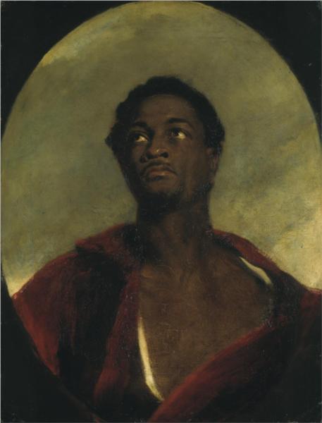 Head of a Man, 1827 - John Simpson