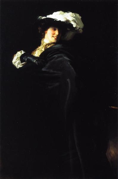 A Vele Gonfie (also known as Ena Wertheimer), 1904 - John Singer Sargent