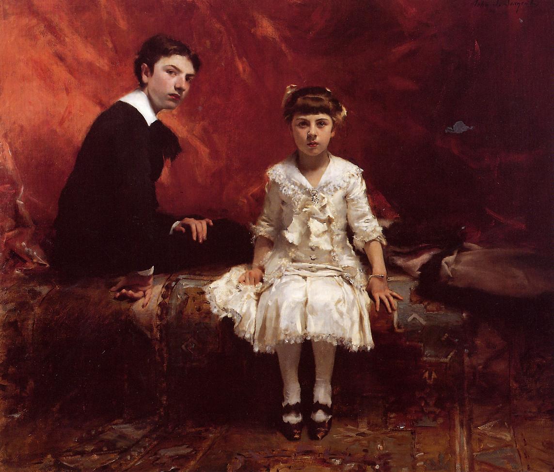 John Singer Sargent Edouard-and-marie-louise-pailleron-1881