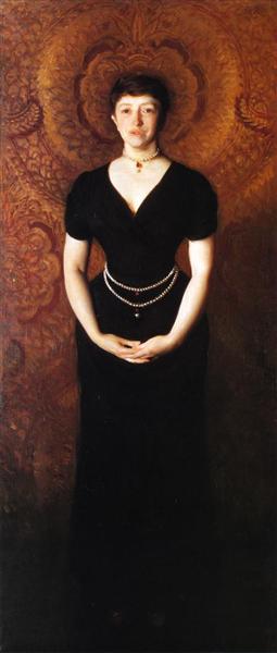 Isabella Stewart Gardner, 1888 - John Singer Sargent