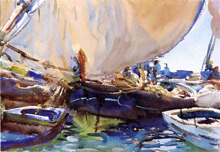 Melon Boats - Sargent John Singer - WikiArt.org