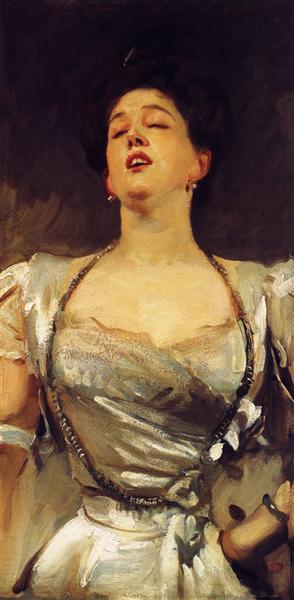Mrs. George Batten (Mabel Veronica Hatch), c.1897 - John Singer Sargent