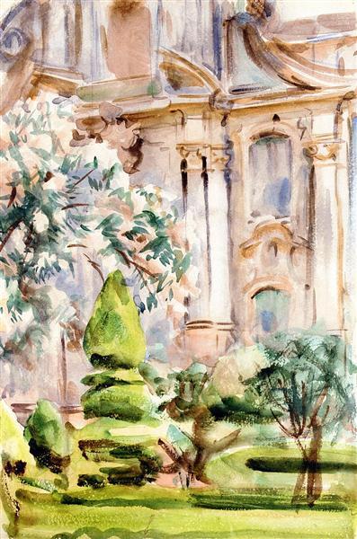 Palace and Gardens, Spain, 1912 - John Singer Sargent
