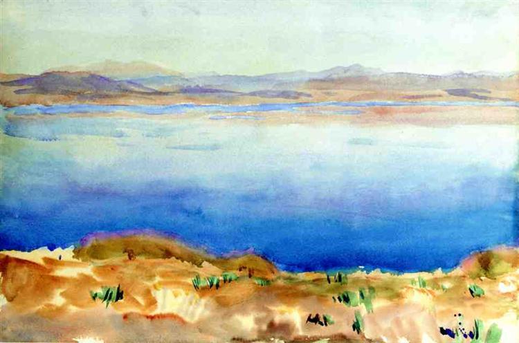 The Lake of Tiberias, 1905 - John Singer Sargent