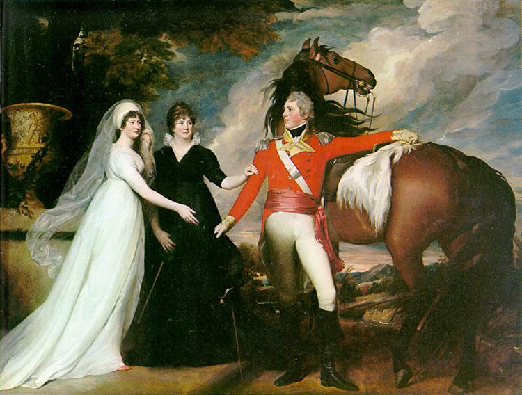 Fitch sisters, 1800 - John Singleton Copley
