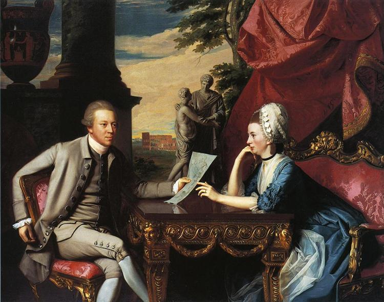 Mr.and Mrs. Ralph Izard, 1775 - John Singleton Copley