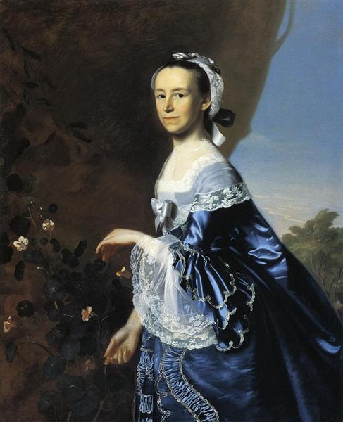 Mrs.James Warren (Mercy Otis), c.1763 - John Singleton Copley