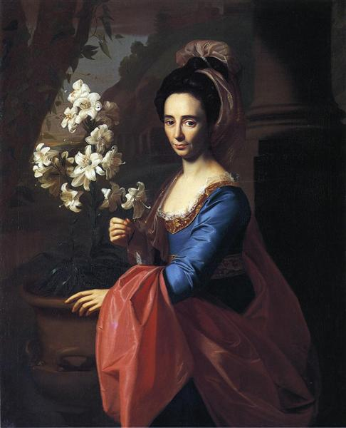 Mrs. Moses Gill (Rebecca Boylston), 1773 - John Singleton Copley