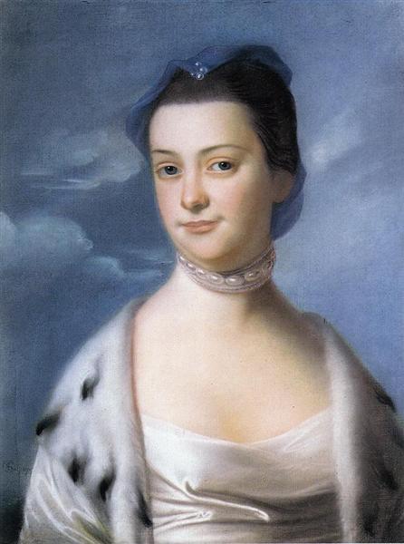 Mrs. William Turner (Ann Dumaresq), 1767 - John Singleton Copley