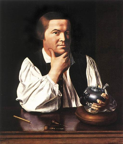 Paul Revere - John Singleton Copley