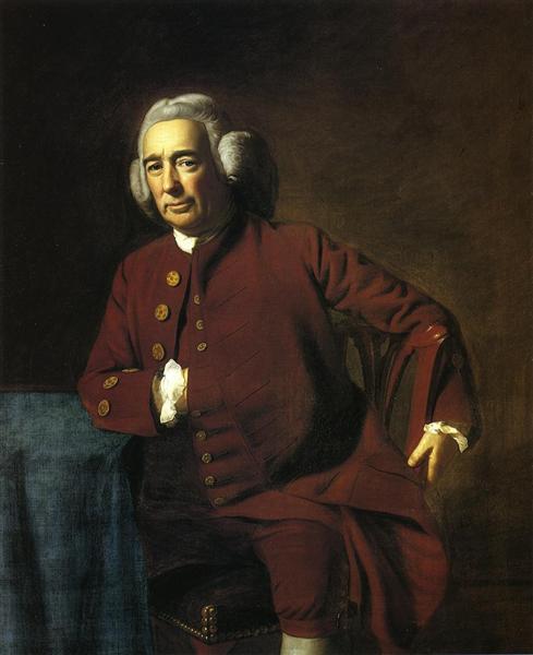 Sylvester Gardiner, c.1772 - John Singleton Copley