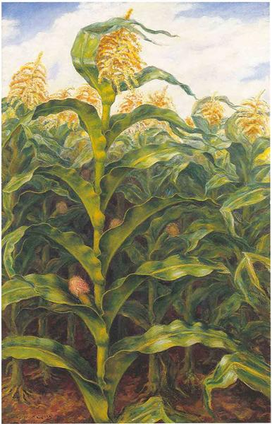 Kansas Cornfield - John Steuart Curry