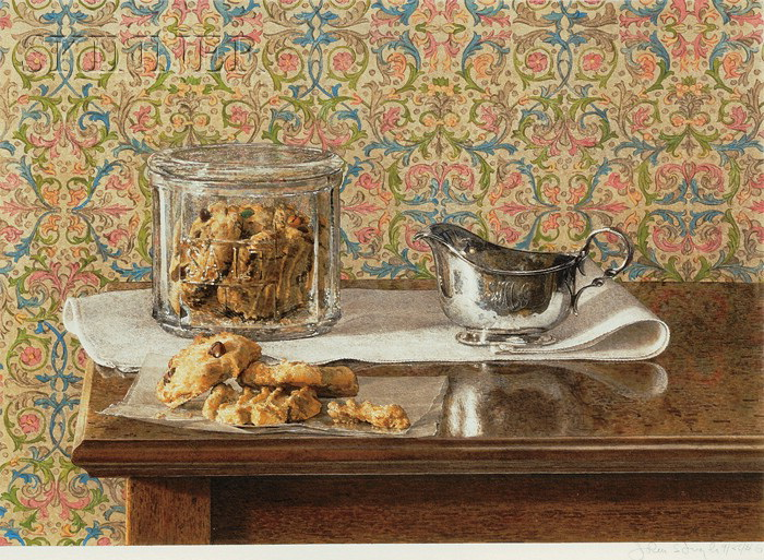 Still Life with Cookies - John Stuart Ingle