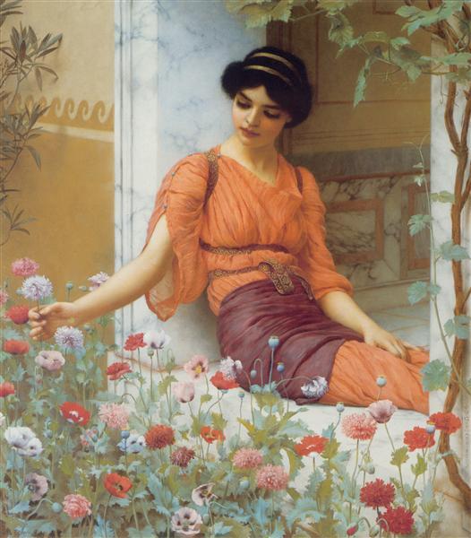 Summer Flowers, 1903 - John William Godward