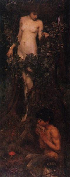 A Hamadryad, 1893 - John William Waterhouse