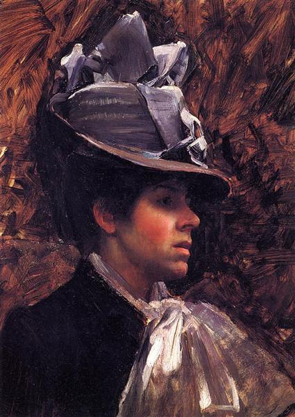 Esther Kenworthy, c.1885 - John William Waterhouse