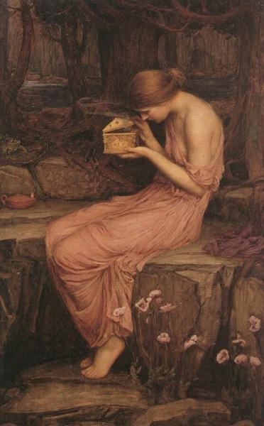 Psyche Opening the Golden Box, 1903 - John William Waterhouse