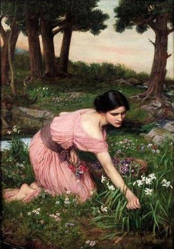 Spring Spreads One Green Lap of Flowers, 1910 - John William Waterhouse
