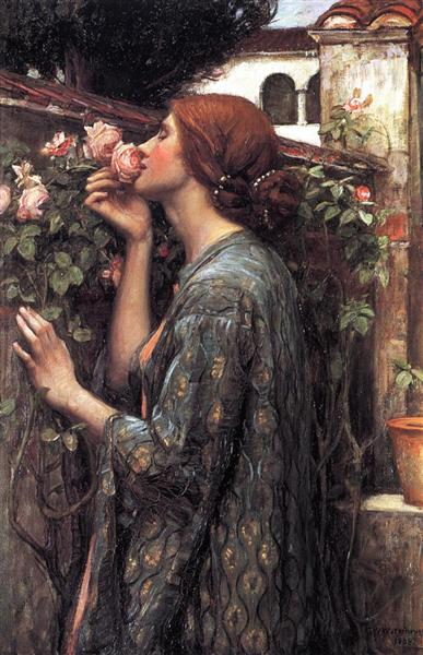 The Soul of the Rose, 1908 - John William Waterhouse