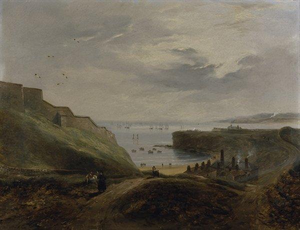 Prior's Haven, Tynemouth - Sunrise, 1845 - John Wilson Carmichael