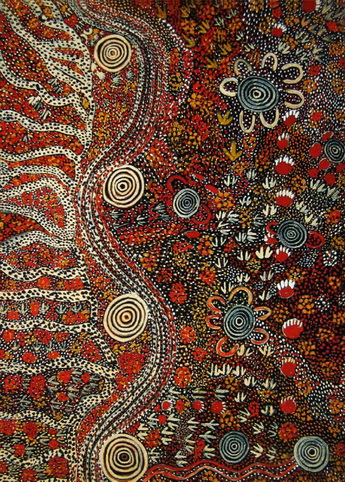 Dreamtime People - Tjupurrula Johnny Warangkula