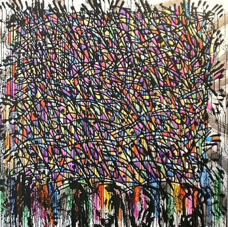 Composition, 2010 - JonOne