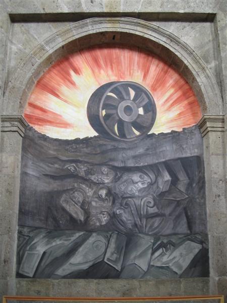 Wheel, 1939 - José Orozco