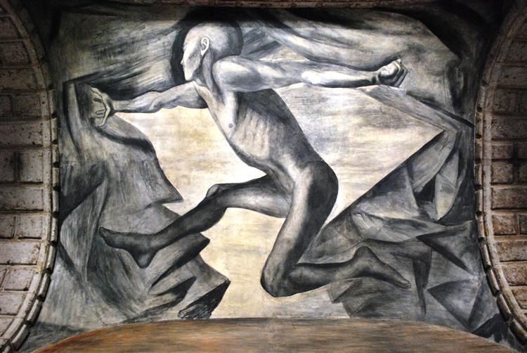 Youth, 1924 - Jose Clemente Orozco