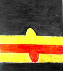 Franja roja y amarilla - Хосе Герреро