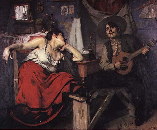 O Fado, 1910 - Jose Malhoa