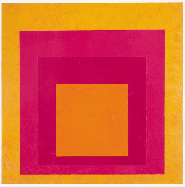 Homage to the Square (La Tehuana), 1951 - Josef Albers