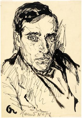 Portrait Study, c.1918 - Josef Albers